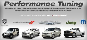 B & G Performance Full Tuning Capabilities for Chrysler, Dodge, Ram, Jeep